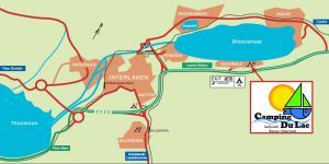 Anreise zum Camping Du Lac 6.15 in Iseltwald bei Interlaken